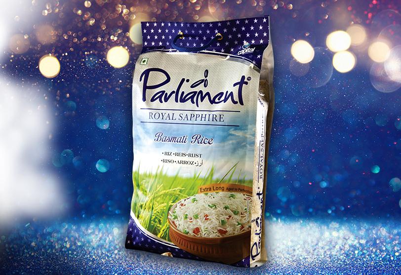 Parliament Royal Sapphire Basmati Rice
